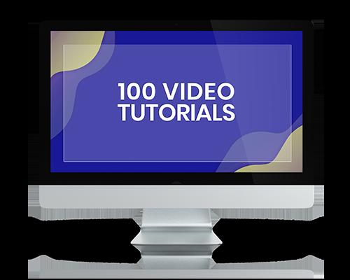 100 Video Tutorials-Talentstacker-Podcast-Pro