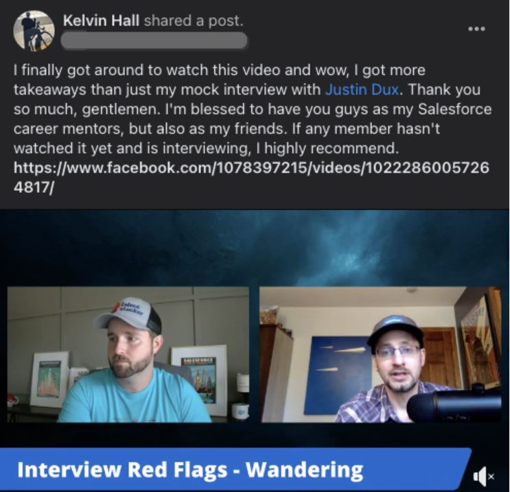 Interview Red Flags -Wandering